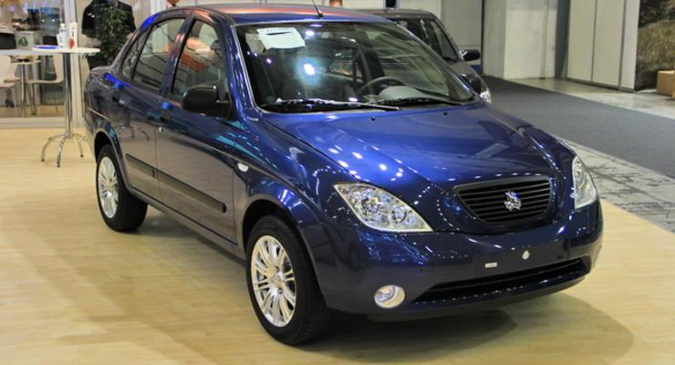 В Украине появился иранский автомобиль по цене Лады