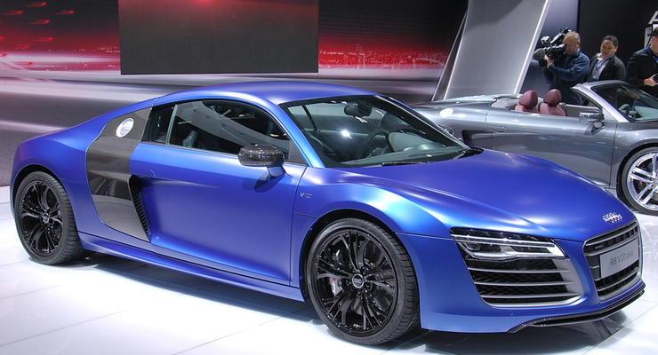 Обновленный Audi R8 привезли на премьеру в Москву
