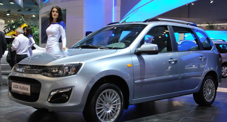 Lada Kalina получила новый дизайн и коробку «автомат»