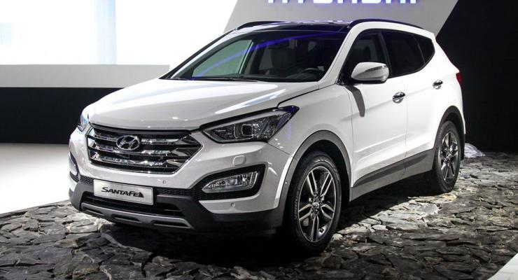 Новый европейский Hyundai Santa Fe вышел на публику