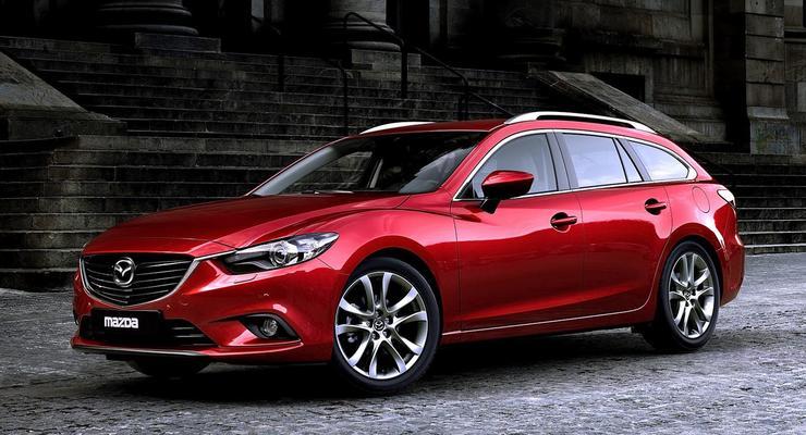 Японцы рассекретили новый универсал Mazda6