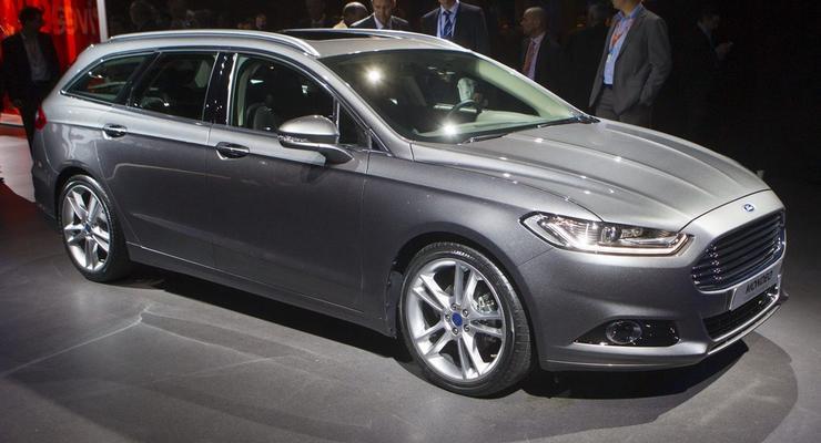 Новый Ford Mondeo представили в трех разных кузовах