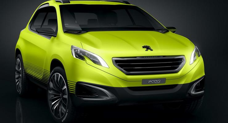Peugeot представил будущего конкурента Nissan Juke