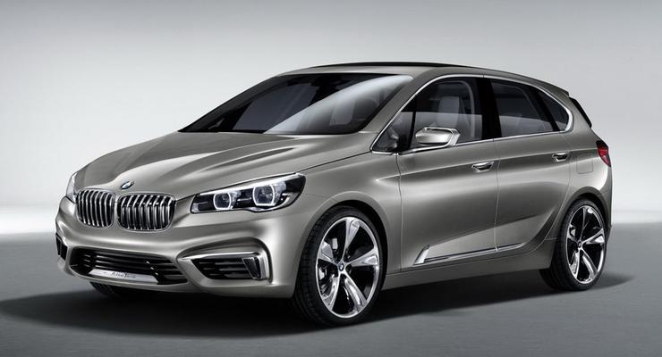 Немцы рассекретили первый BMW с передним приводом