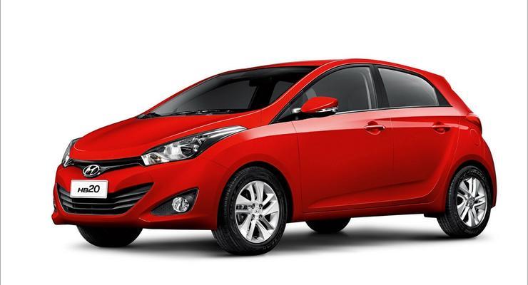 Корейцы выводят на рынок новую модель Hyundai