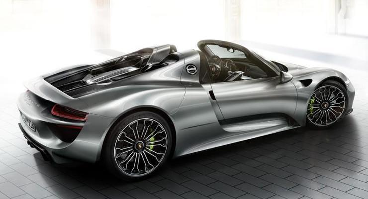 За цвет «жидкий металл» Porsche запросил $65 тысяч