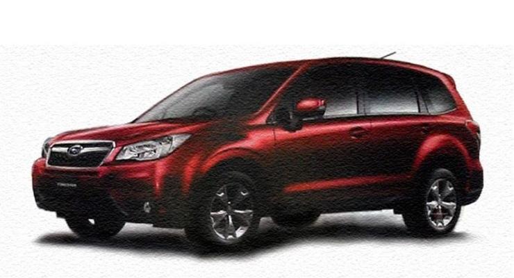 Первые изображения Subaru Forester нового поколения