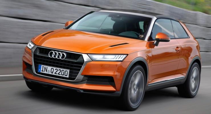 Audi готовит к премьере самый маленький кроссовер