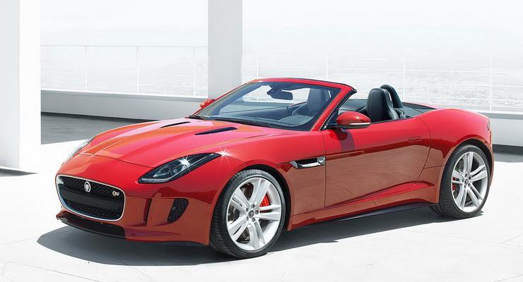 Новый Jaguar F-Type приехал на премьеру с ценником
