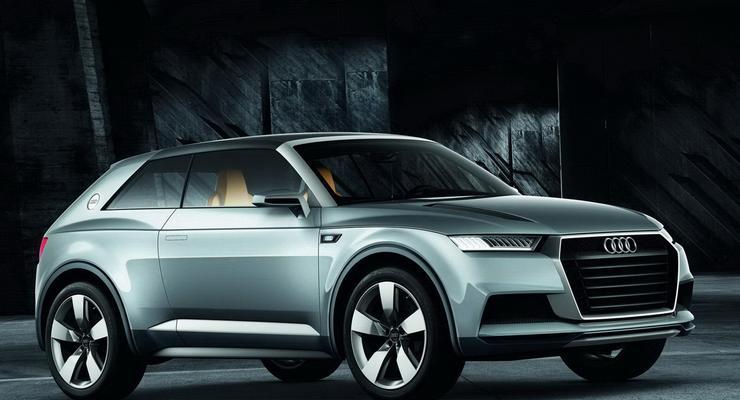 Audi рассекретила свой самый маленький кроссовер