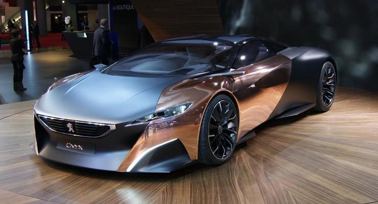 Десять лучших концептов Парижского автосалона 2012