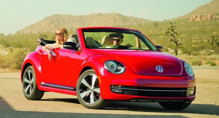 Новый кабриолет Volkswagen Beetle получил ценник
