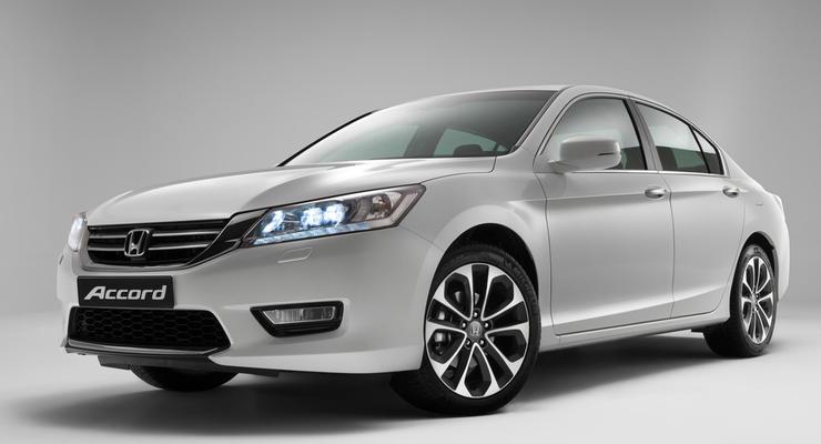 Представлен новый Honda Accord для России и Украины