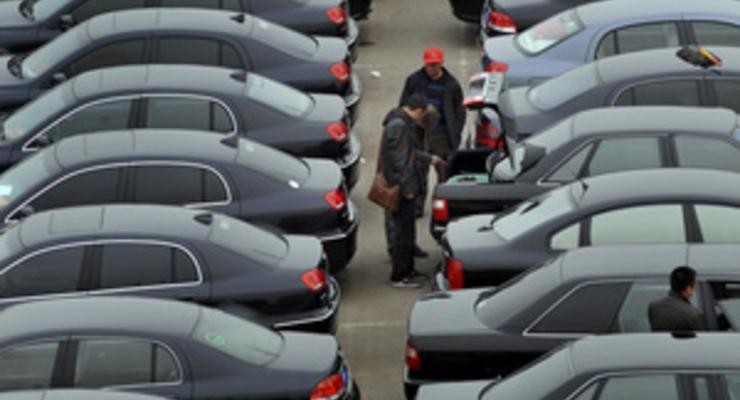 Продажи автотранспорта в Украине с начала года выросли почти на четверть