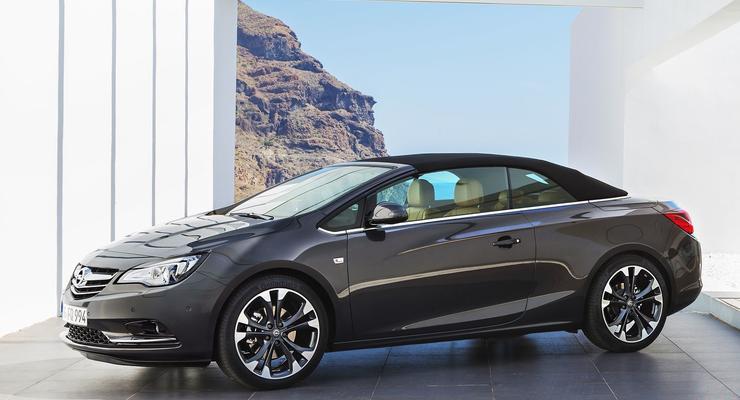 Opel рассекретил новую модель под названием Cascada
