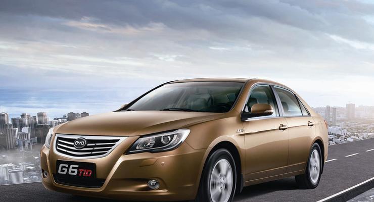 Объявлены украинские цены на новый седан BYD