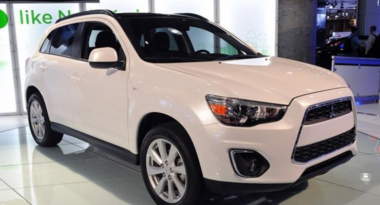Обновленный Mitsubishi ASX выйдет в Украине весной