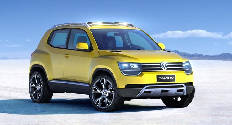 Volkswagen представил миниатюрный кроссовер Taigun