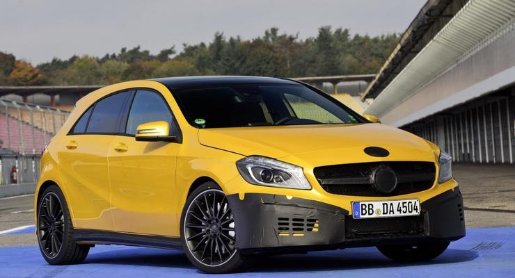 Новый Mercedes будет самым мощным хэтчбеком в мире