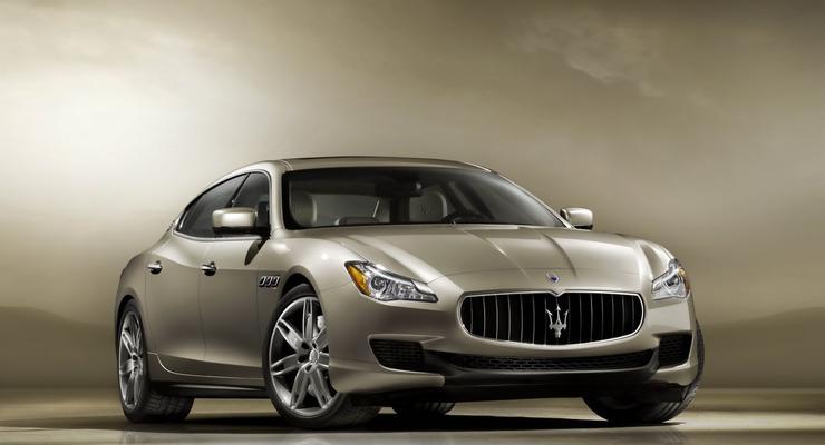Первые фотографии седана Maserati нового поколения