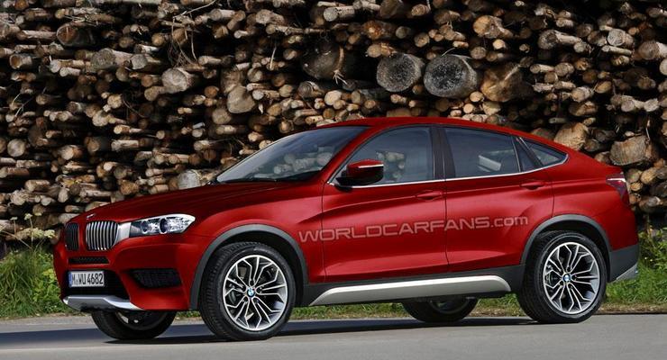 Кроссовер BMW X4 покажут публике через два месяца