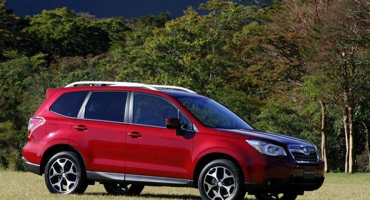 Новое поколение Subaru Forester показали в деталях