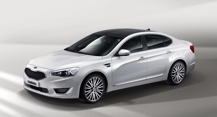 Kia рассекретила новый седан «джентльмен-класса»