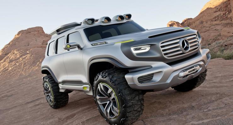 Mercedes показал новый концептуальный внедорожник