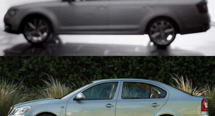 Профиль новой и старой Skoda Octavia: найди 10 отличий