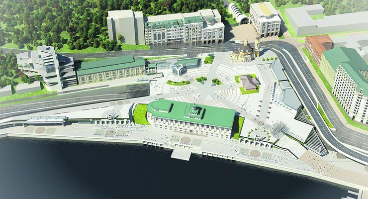 Реконструкция Почтовой площади: в декабре откроют тоннель