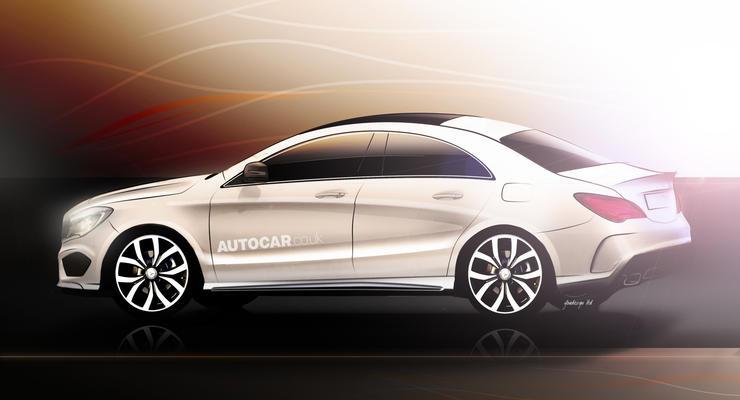 Новый спортседан Mercedes будет дешевле С-Класса
