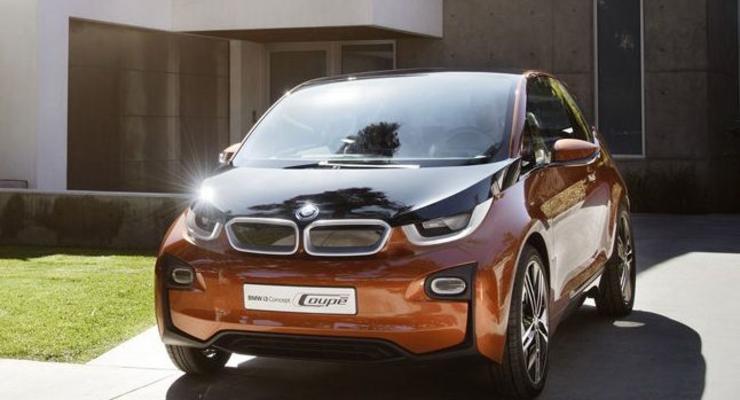 Представлен новый концепт BMW, сделанный из карбона