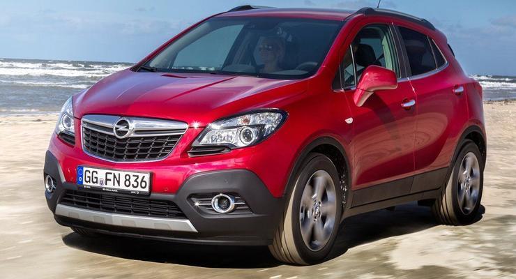 Кроссовер Opel Mokka привезут нашим дилерам весной