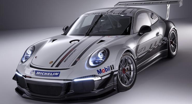 Немцы показали гоночный Porsche 911 нового поколения