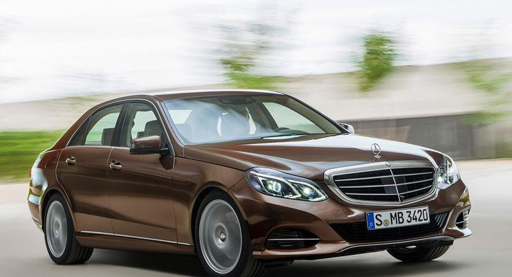 Обновленный Mercedes E-Class: первые фотографии