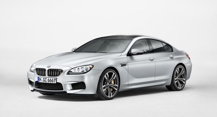 Немцы рассекретили спортивный седан BMW M6
