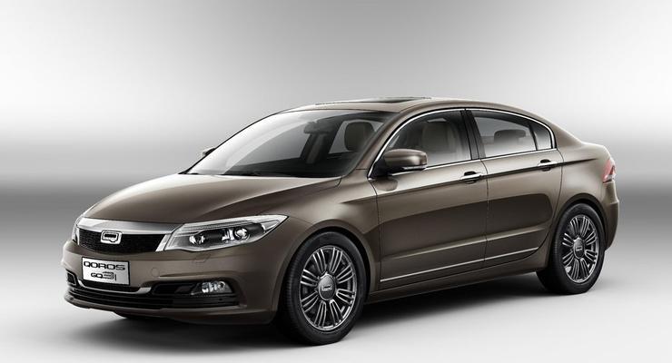 Китайцы показали новый седан для европейского рынка