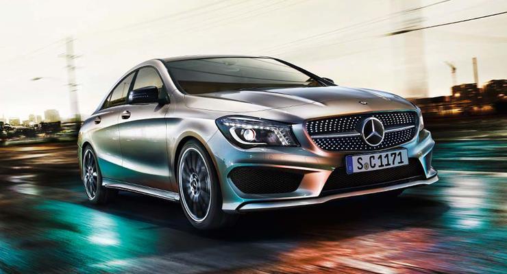 Первые фотографии Mercedes CLA попали в интернет