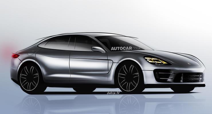 Porsche готов выпустить конкурента BMW пятой серии