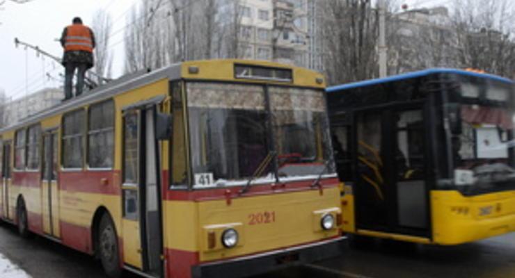 В 2013 году Киев закупит 210 новых троллейбусов