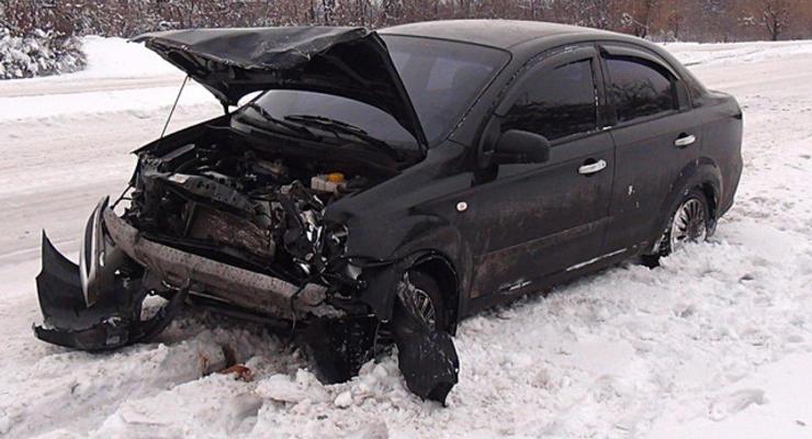Сотрудница милиции протаранила ВАЗ, водитель погиб