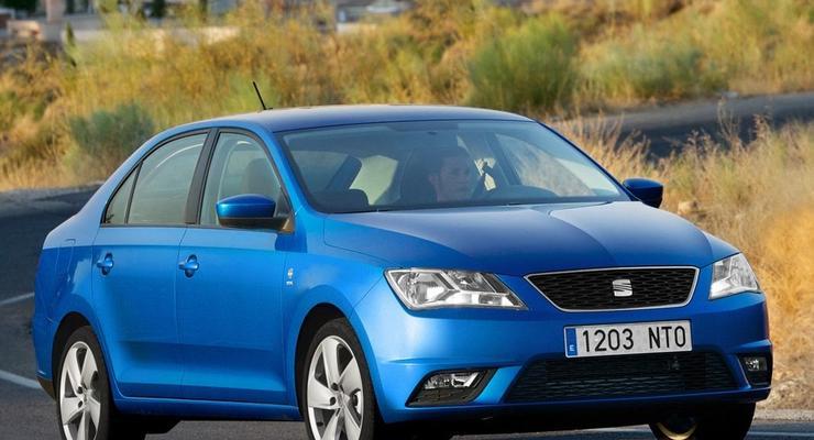 SEAT Toledo нового поколения выйдет в Украине в июле