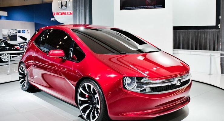 Honda представила прототип молодежного автомобиля