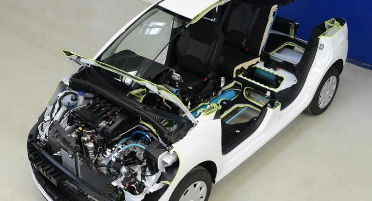 Будущие Peugeot и Citroen будут работать на воздухе