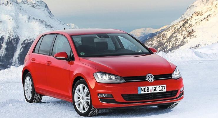 Volkswagen представил Golf VII с полным приводом