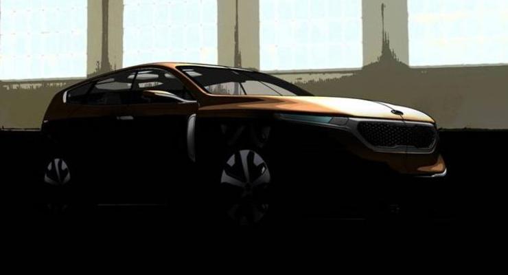 Корейцы готовят к премьере кроссовер Kia Cross GT
