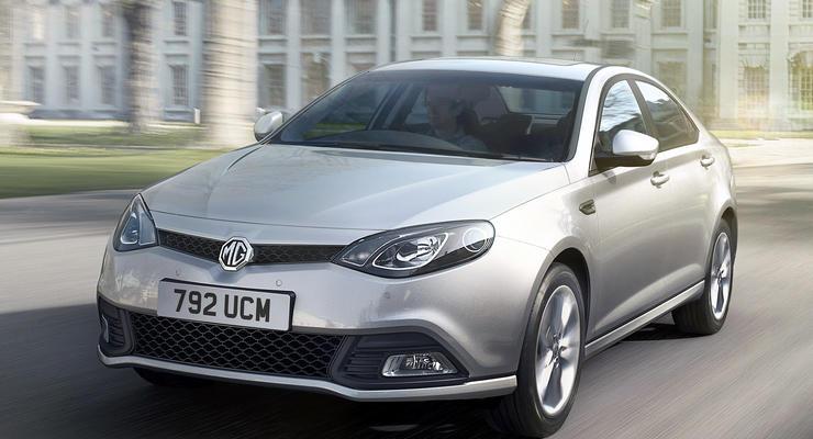 Китайский седан MG 6 выходит на украинский рынок