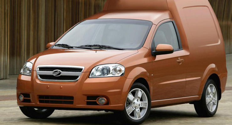 Новый фургон ЗАЗ сможет перевозить до 750 кг груза