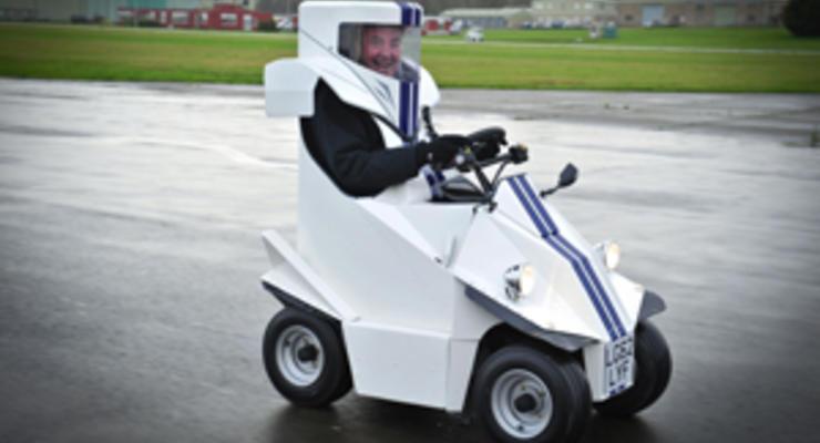 Top Gear сделал самый маленький автомобиль в мире