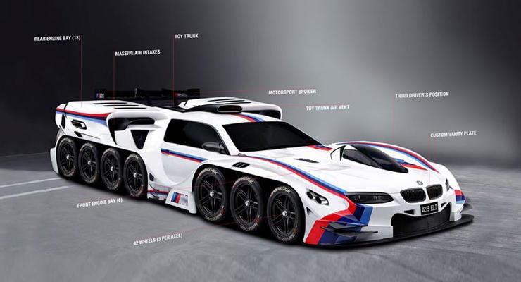 BMW нарисовал для мальчика автомобиль его мечты
